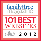 Family Tree Magazine - 101 Best Genealogy Websites 2012